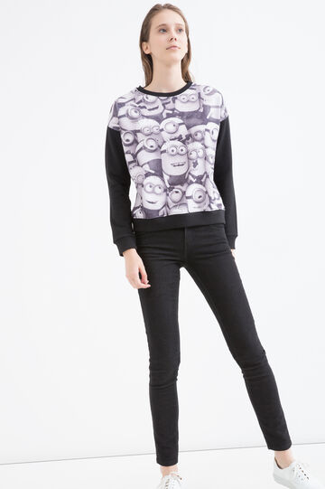 Minions cotton blend sweatshirt