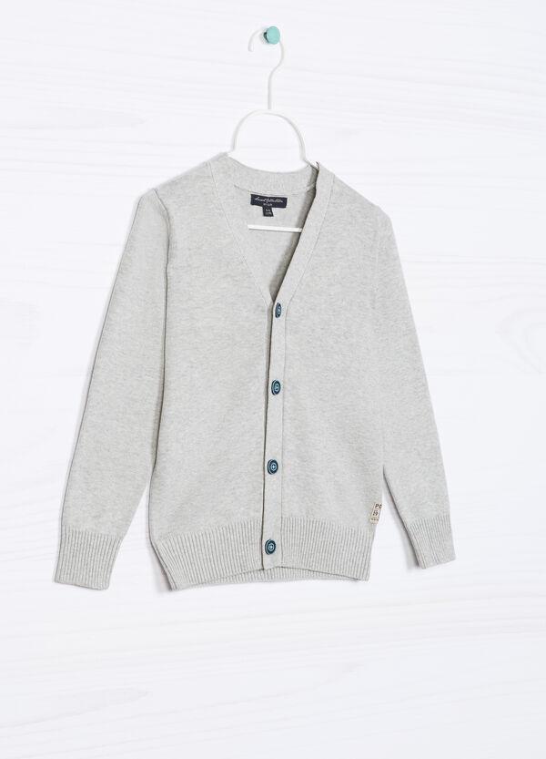 Cardigan puro cotone tricot   OVS