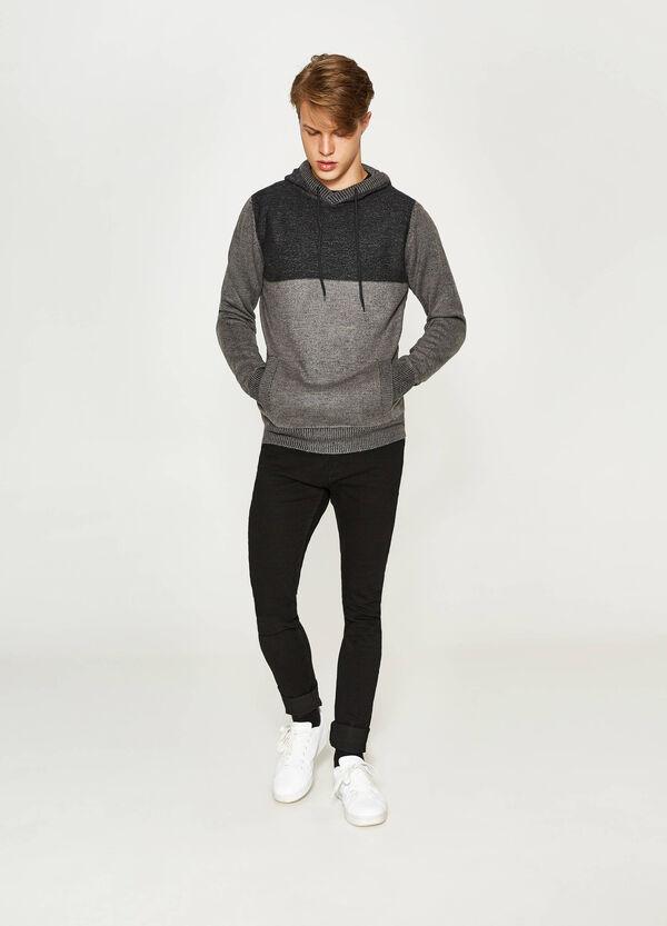 Pullover tricot con cappuccio   OVS