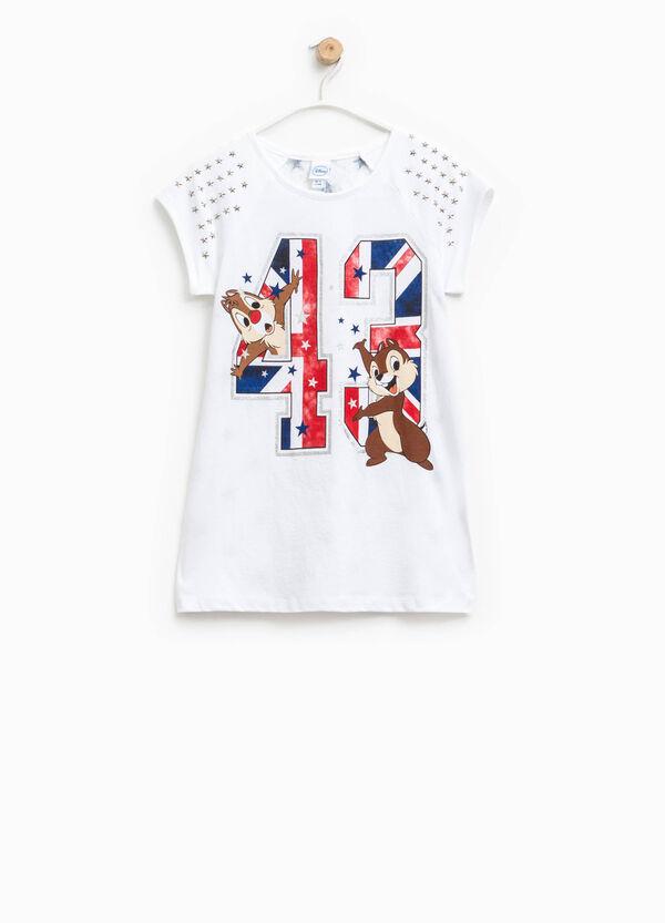 T-shirt lunga con pizzo Cip & Ciop   OVS