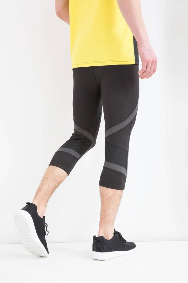Three-quarter length gym pants | OVS