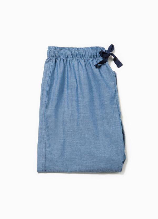Pantaloni pigiama in misto cotone | OVS