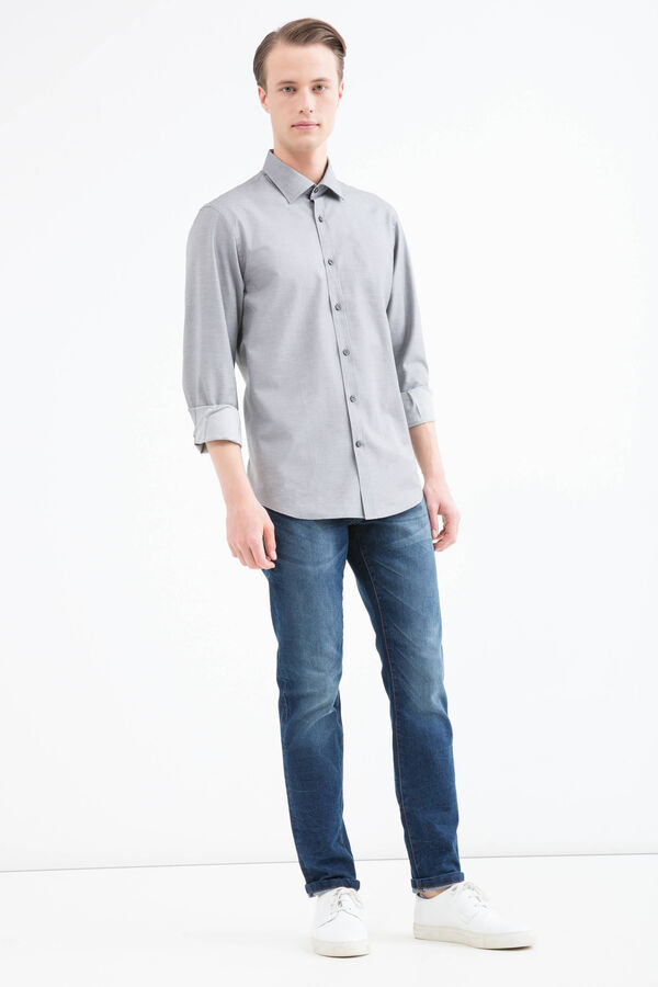 Camicia regular fit puro cotone | OVS