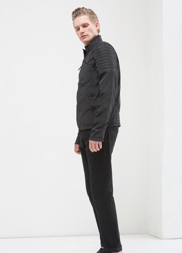 Giubbotto in nylon con collo alto | OVS