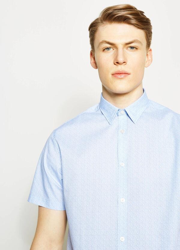 Regular-fit formal patterned shirt | OVS