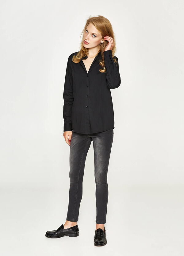 Jeans slim fit stretch delavati   OVS