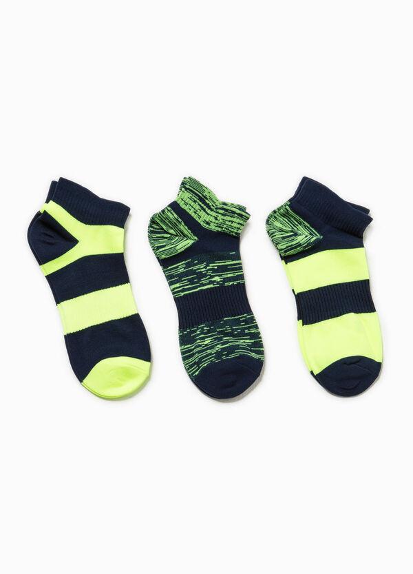 Set of striped OVS Active Sport Training socks | OVS