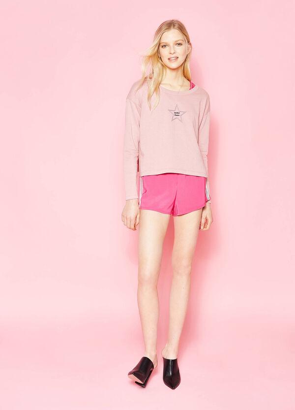 Shorts con bande laterali lucide | OVS