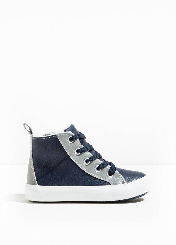Sneakers alte con lacci e zip | OVS