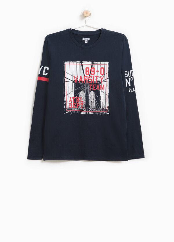 T-shirt in puro cotone stampata | OVS