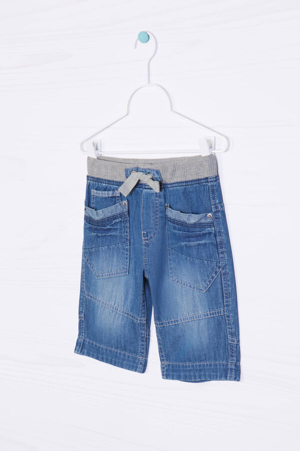 Shorts di jeans con coulisse   OVS