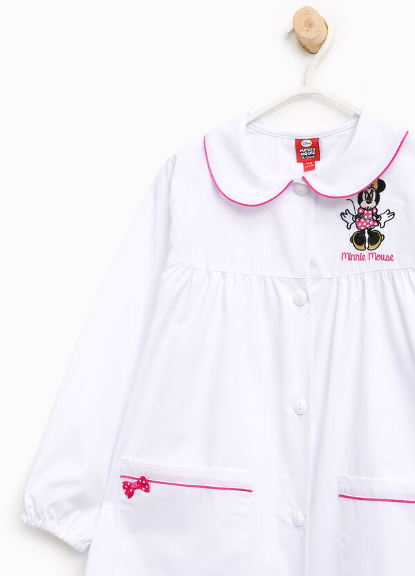 Smock with Minnie Mouse embroidery and bow | OVS