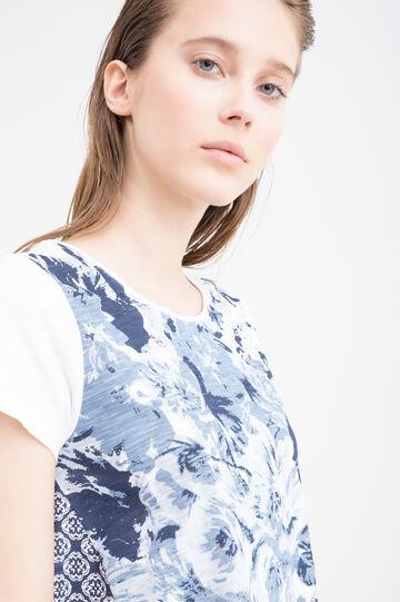 Cotton patterned T-shirt