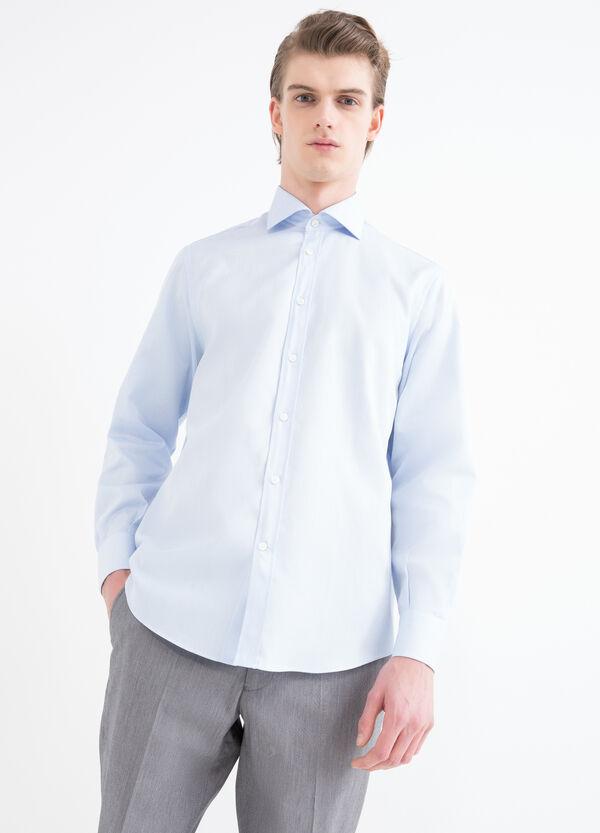 Regular-fit shirt with adjustable cuffs | OVS