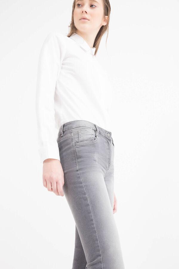 Slim-fit, worn-effect, stretch jeans | OVS