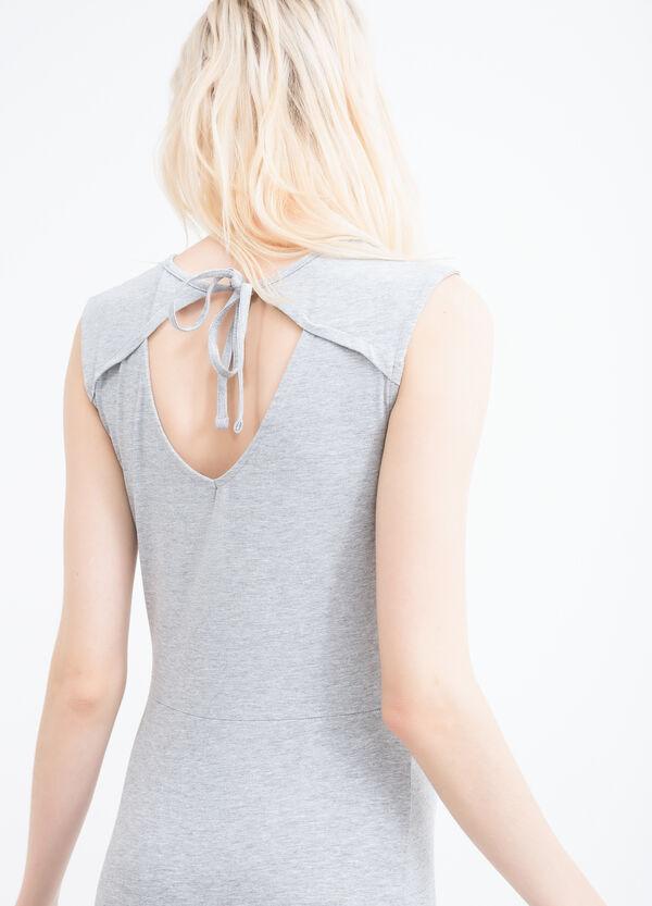 Stretch cotton dress | OVS