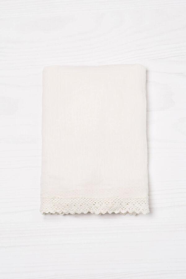 Sciarpa puro cotone tinta unita | OVS