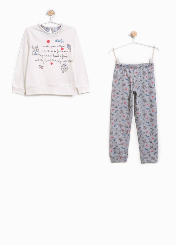 Pyjamas in 100% cotton with patterned print. | OVS