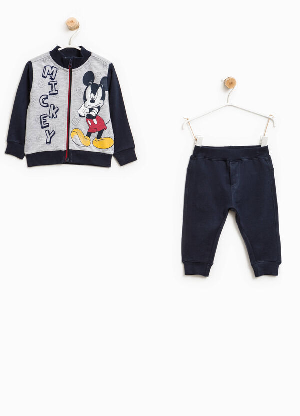 Mickey Mouse print cotton tracksuit | OVS