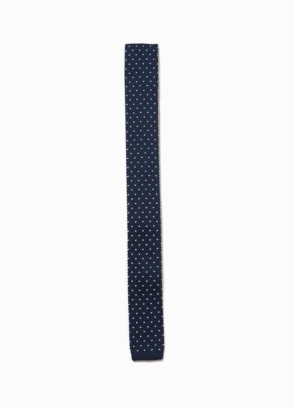 Cravatta tricot fantasia a pois | OVS