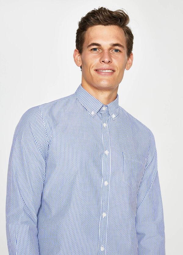 Camicia casual popeline a righe | OVS
