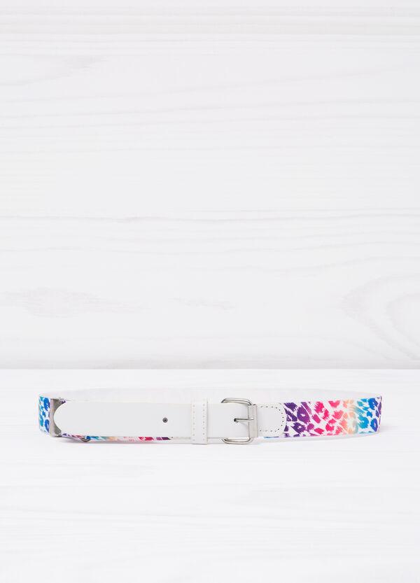 Animal print stretch belt | OVS