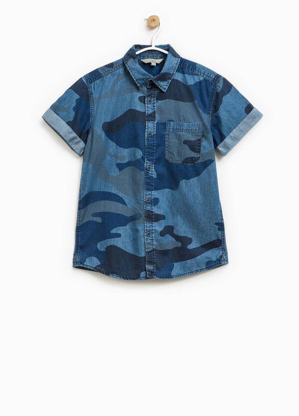 Camicia camouflage in cotone | OVS