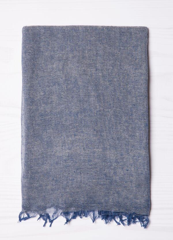 Sciarpa puro cotone con frange | OVS