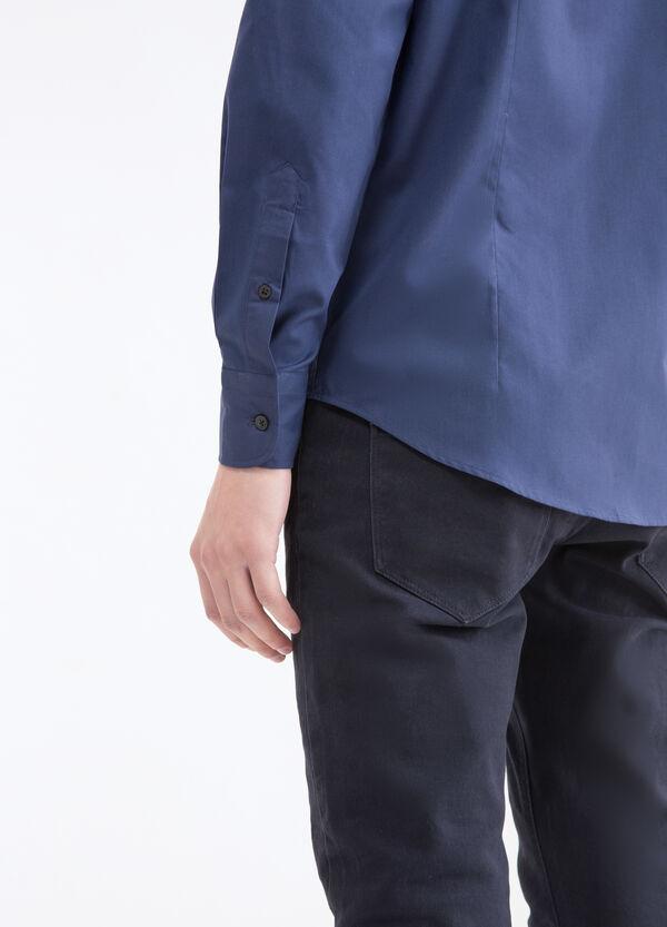 Camicia slim fit colletto classico | OVS