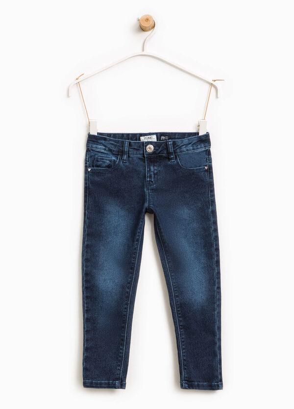 Jeans stretch effetto delavato | OVS