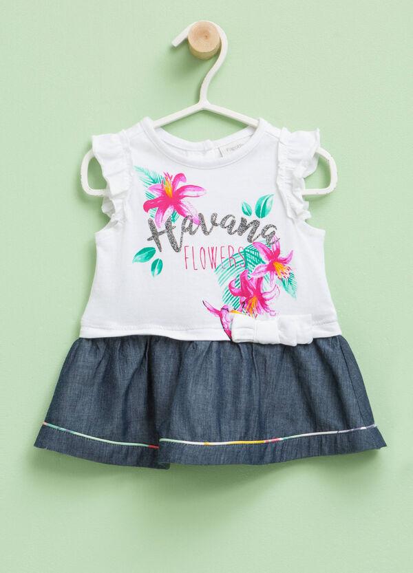 Cotton dress with print | OVS