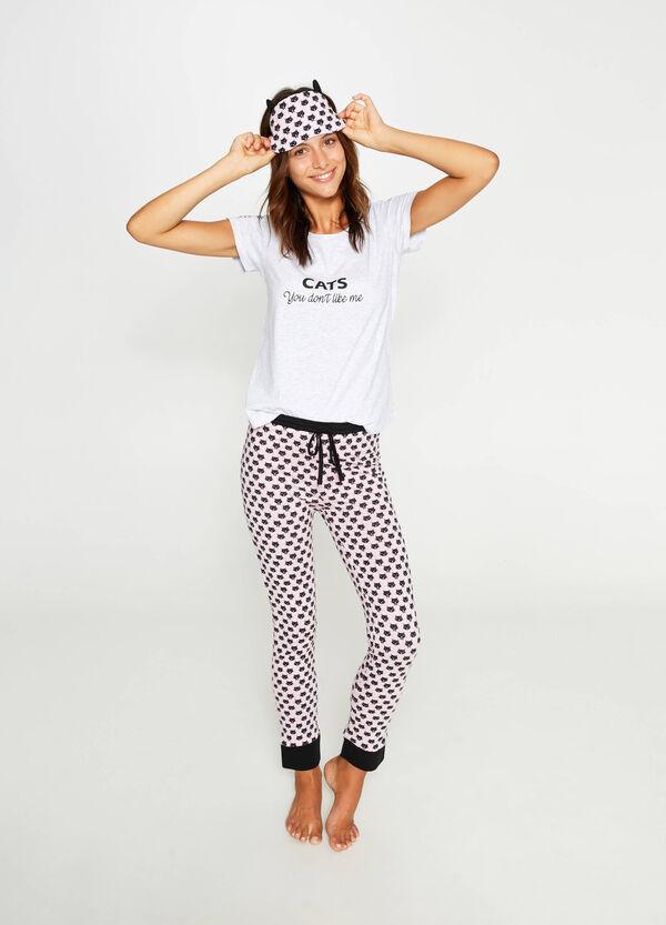 Pyjamas and cat eye mask | OVS