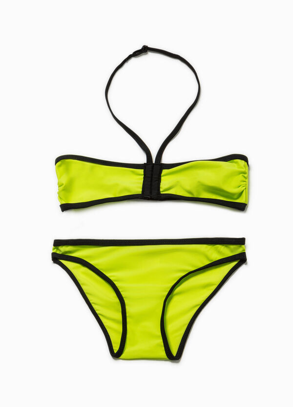Bikini fascia e slip elasticati   OVS