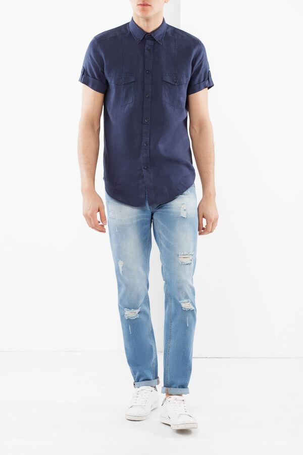 Camicia lino button down | OVS