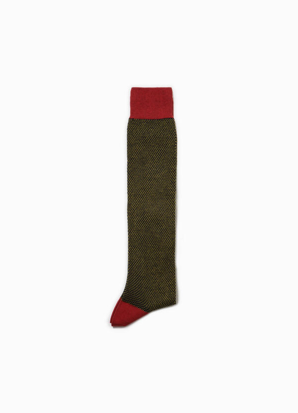 Rumford long patterned socks with lurex | OVS