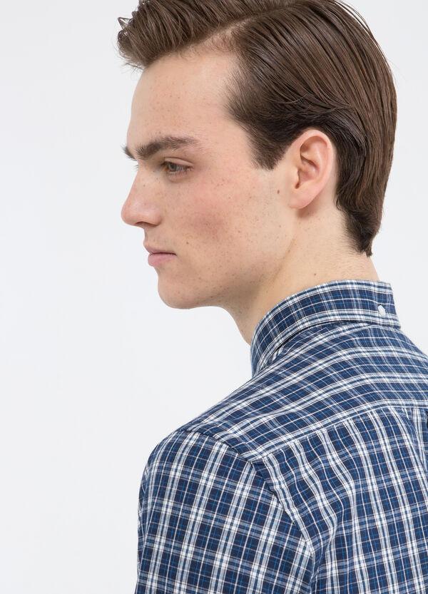 Camicia cotone tartan   OVS