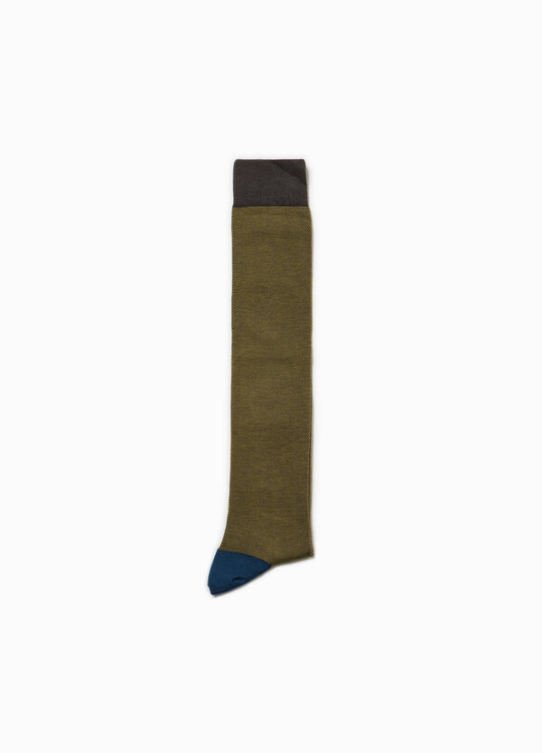 Long stretch socks with Rumford pattern | OVS