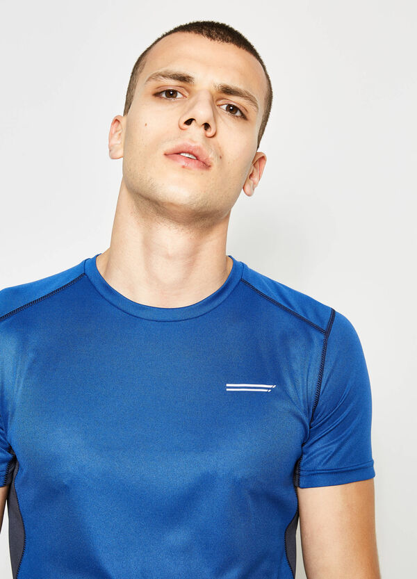 T-shirt with contrasting bands | OVS