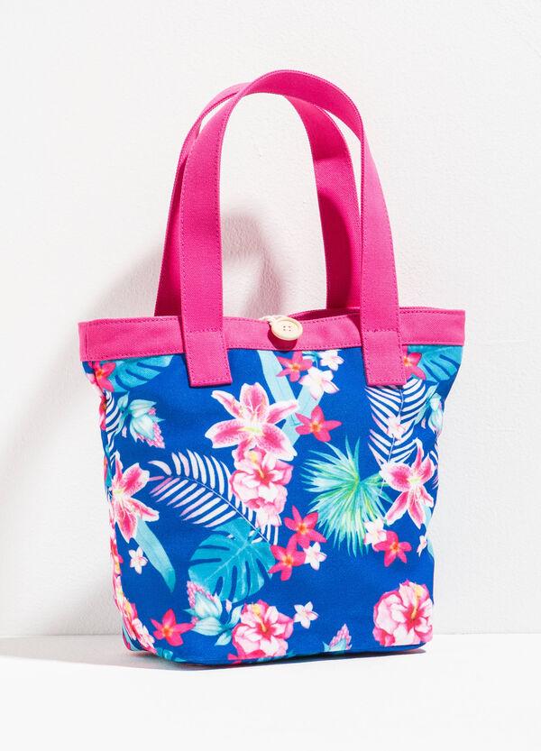 Floral patterned shopping bag | OVS