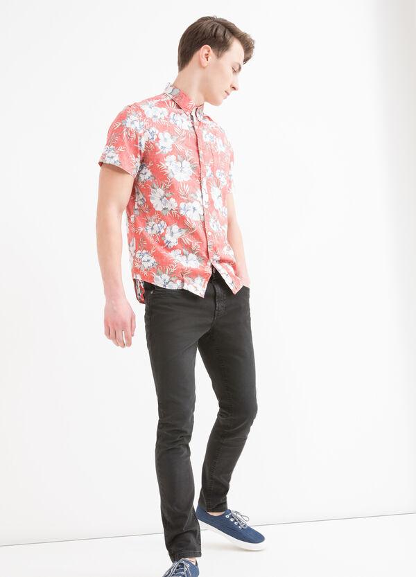 Camicia cotone con stampa G&H   OVS