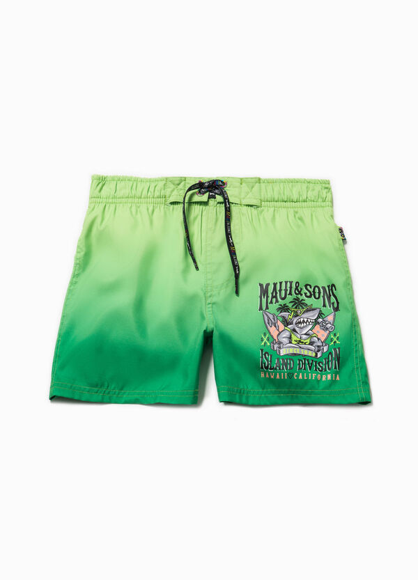 Degradé swim boxer shorts by Maui and Sons | OVS