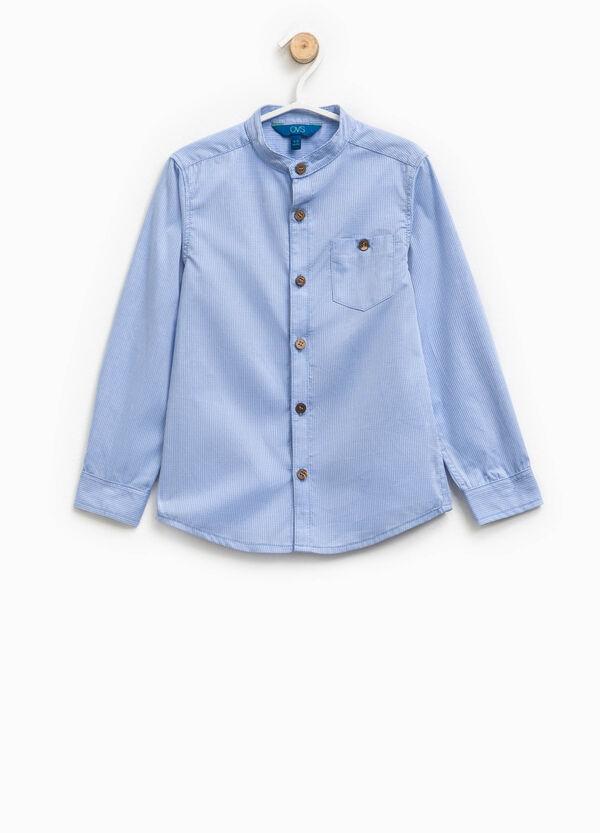 Camicia a righe in puro cotone | OVS