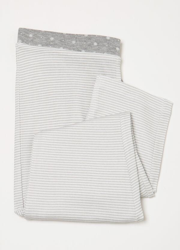 Striped pyjama trousers in 100% cotton | OVS