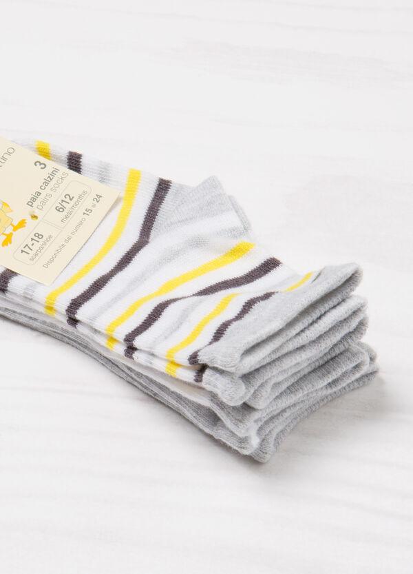 Three-pack stretch socks   OVS