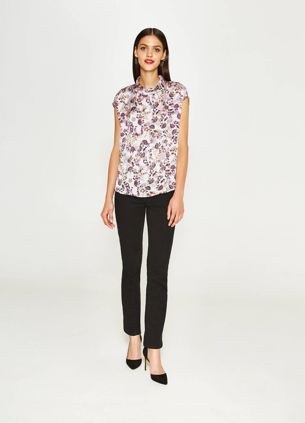 Blusa con stampa floreale all-over | OVS