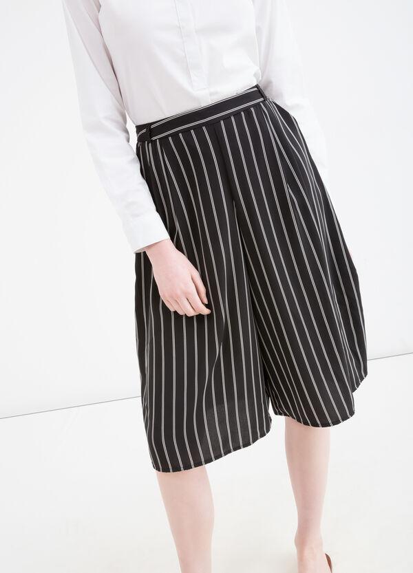 Striped culottes | OVS