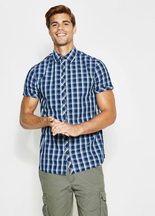 Camicia casual in cotone tartan | OVS
