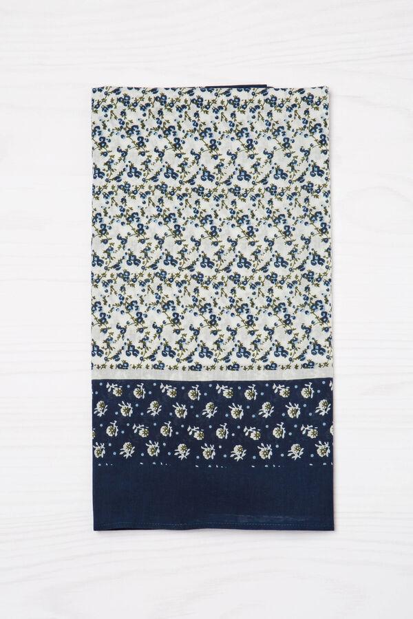 Sciarpa floreale puro cotone | OVS
