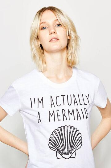 Printed stretch T-shirt