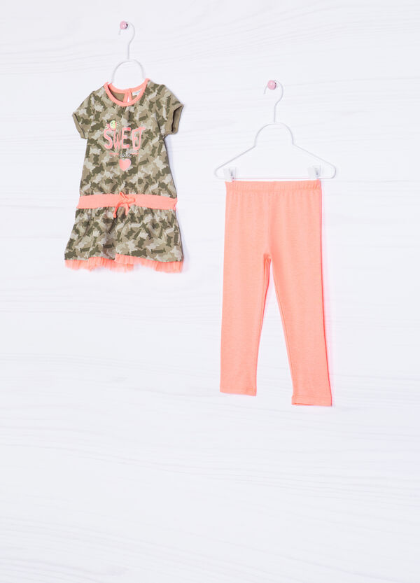 Printed stretch outfit | OVS